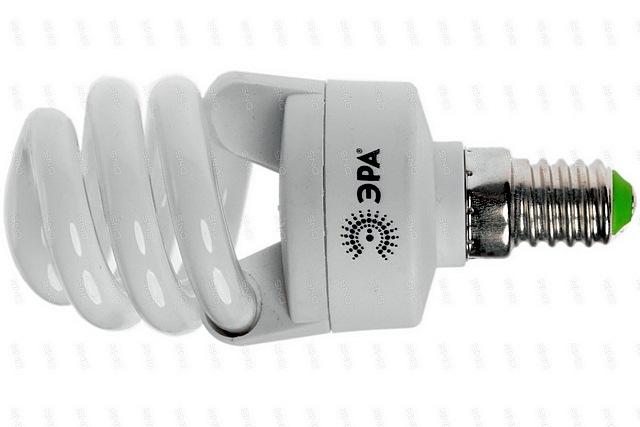 Компактная люминесцентная лампа с цоколем Е40.