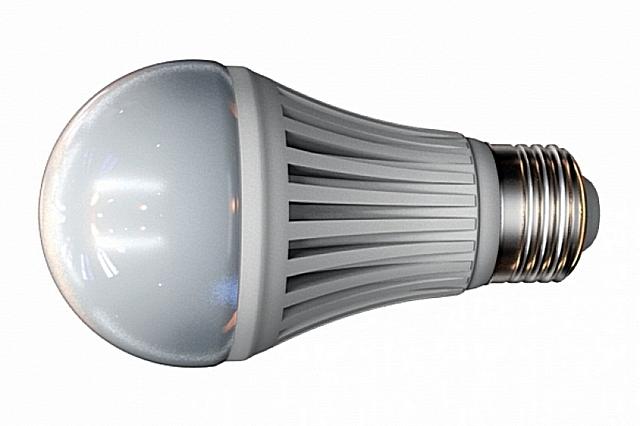 Светодиодная лампа с «классической» формой колбы и со стандартным цоколем Е27.