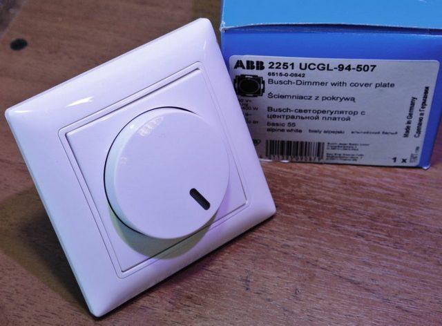 Диммер – удобное устройство, дающее возможность плавно регулировать интенсивность светового потока