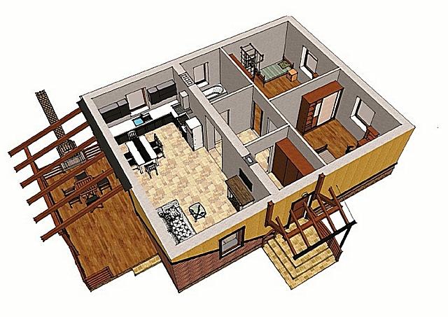 Каждому из помещений определены собственные нормативы освещённости. Так что при расчетах исходят далеко не только от площади комнаты.