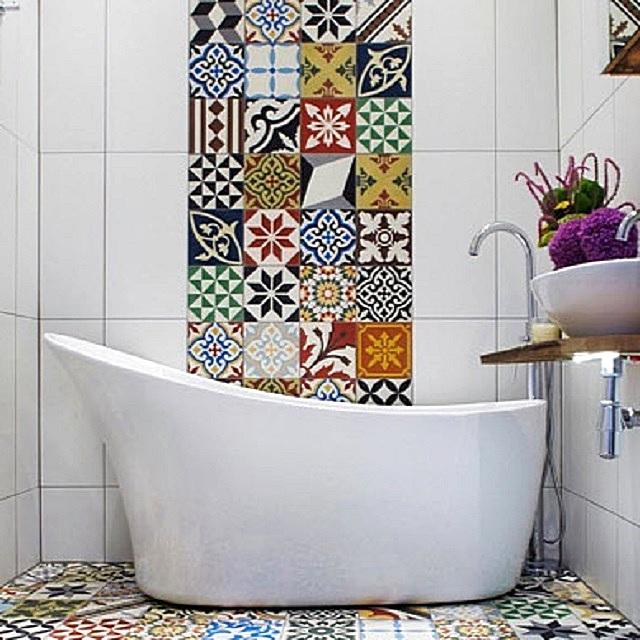 Керамической плитке пока нет равных в сфере отделки ванных комнат