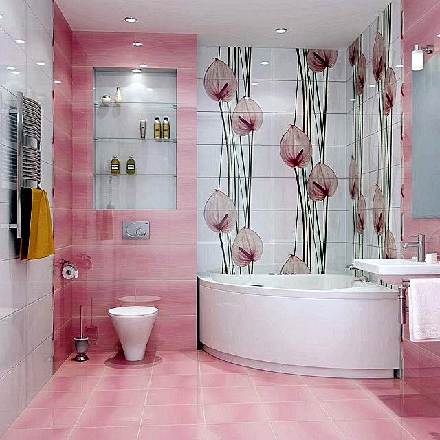 Декоративные композиции с выражено вертикальным рисунком усилят эффект «поднятия потолка»