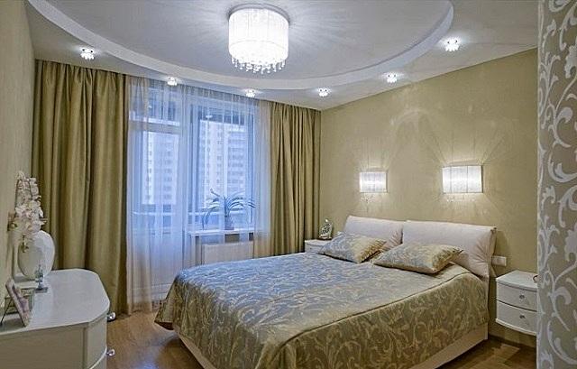 Освещение спальни требует особого подхода