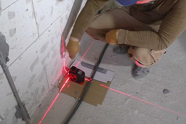 как поставить маяки без лазерного уровня