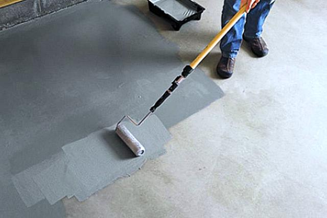 Самые популярные краски для бетонных полов