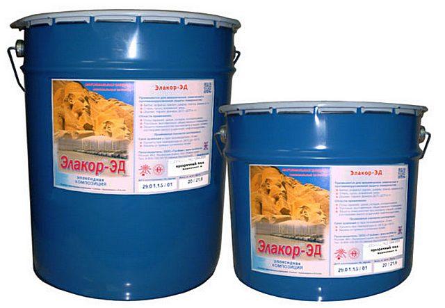 Эпоксидная краска «Элакор-ЭД Эмаль-2К/100» с очень широким спектром применения