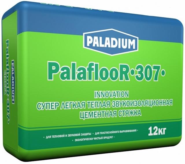 «PALADIUM PalaflooR-307» — рекордно низкие плотность и расход состава на фоне высоких показателей прочности стяжки