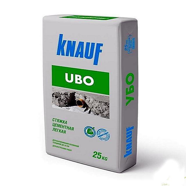 Очень популярная сухая смесь для легкой стяжки всем известного бренда «Knauf»