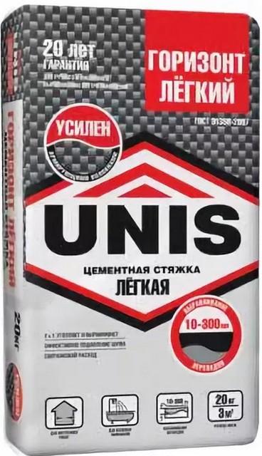 Сухая строительная смесь «UNIS Горизонт Легкий» — стяжка с очень широким диапазоном применения