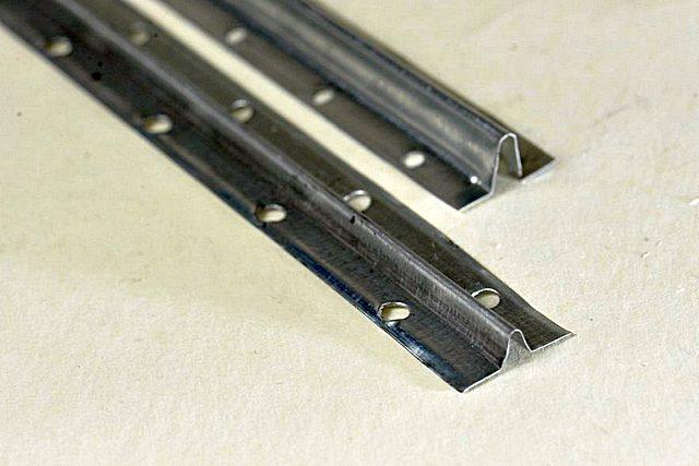 Маячковые оцинкованные профили высотой 6 и 10 мм