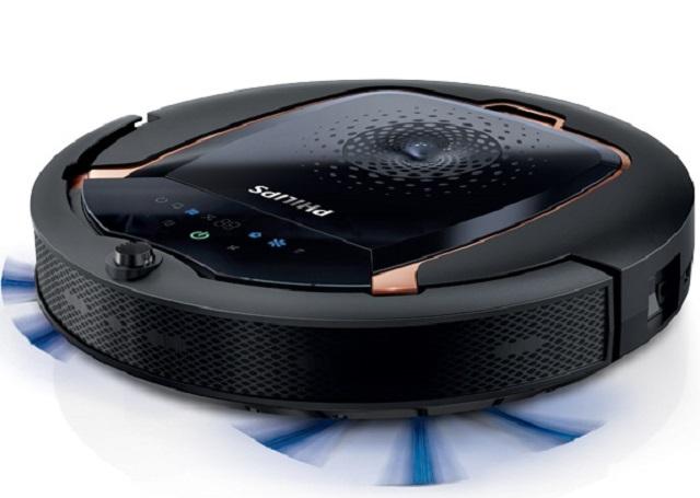 Робот-пылесос «Philips FC8820/01» отлично подойдет для сухой очистки ламината.