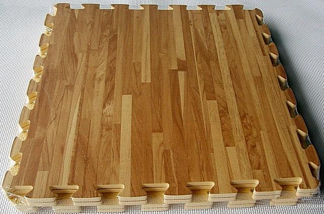 ЭВА-модули с рисунком, имитирующим натуральное деревянное покрытие