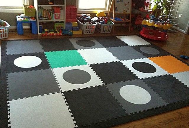 Выбирая модульное или ковровое покрытие из ЭВА-пластика, следует обращать внимание на ряд важный нюансов