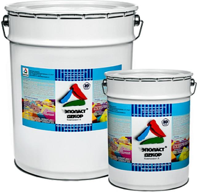 «Эполаст-Декор» — для финишного покрытия наливного полимерного пола