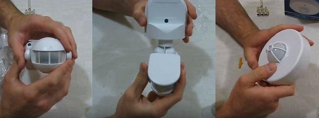 Разные модели и по исполнению, и по месту установки. Но при этом принцип их электрической коммутации с осветительным прибором — один и тот же.