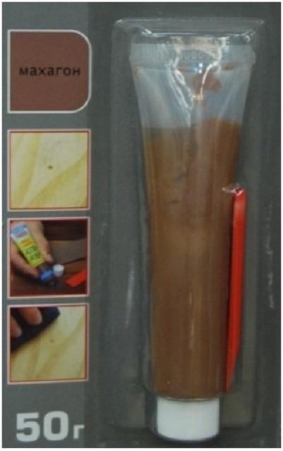 Ремонтная паста-мастика для ламината