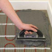 Калькуляторы расхода клея для укладки плитки на электрический теплый пол