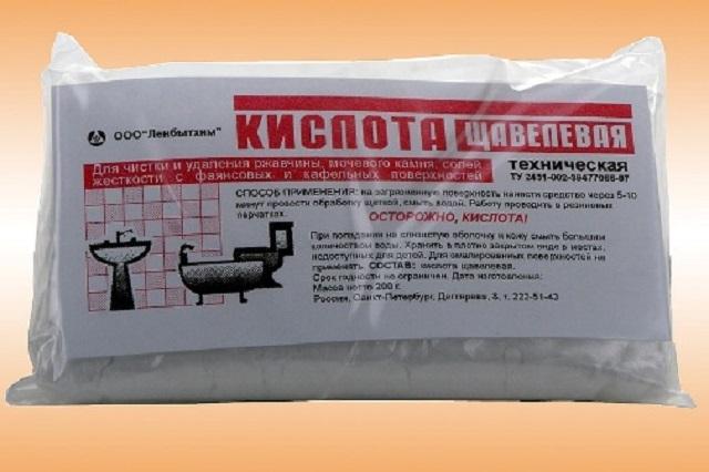 Щавелевая кислота — эффективное и недорогое средство для очистки унитазов, ванн и раковин.