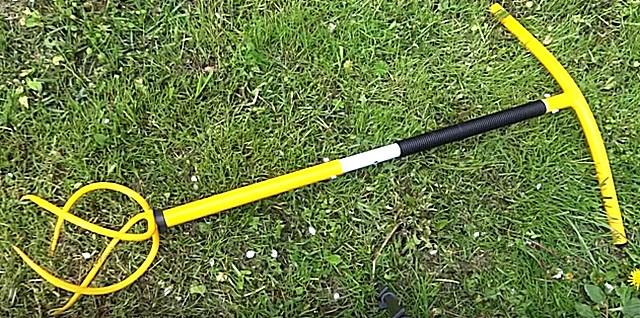Готовый культиватор «Торнадо» обычно имеет регулируемую по высоте ручку.