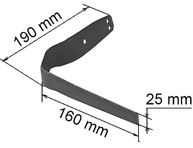 Конструкция плоскореза незамысловата. Поэтому изготовить его в домашних условиях не составит труда, конечно же, при наличии необходимых инструментов.