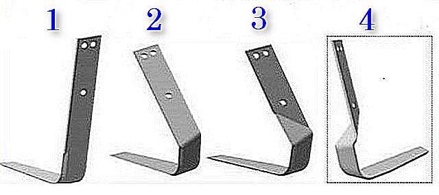 Последовательность выполнения требуемого изгиба плоскореза