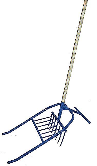 Конструкция «чудо-лопаты».