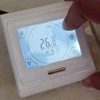 Как подключить теплый пол к терморегулятору