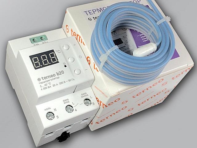 Терморегулятор с установкой на DIN-рейку