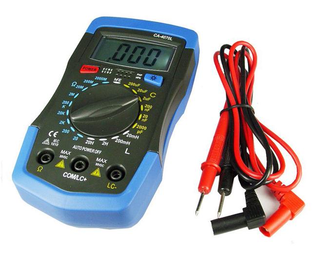 Многофункциональный прибор для измерения индуктивности, емкости и сопротивления