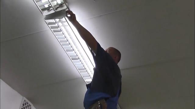 Проверка светильника после монтажа