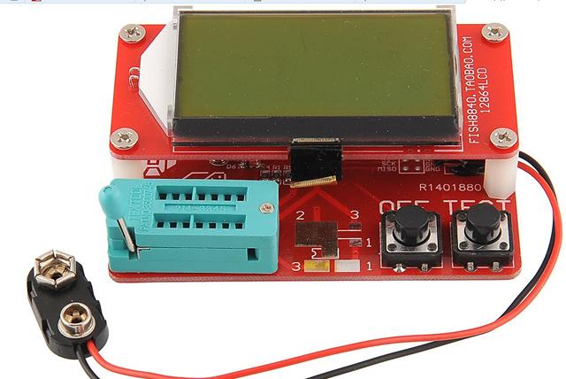 Универсальный прибор для проверки радиодеталей