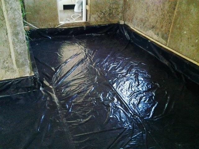 Гидроизоляция деревянного пола под наливную стяжку.