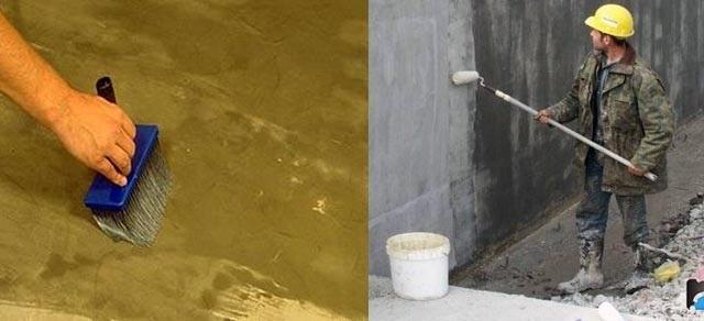 Гидроизоляционная пропитка стяжки и бетонного фундамента жидким стеклом
