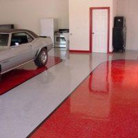 Краска для бетонного пола в гараже