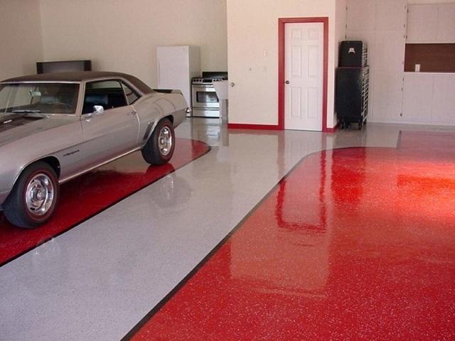 Краска по бетону в гараже купить документ качества бетонной смеси в15