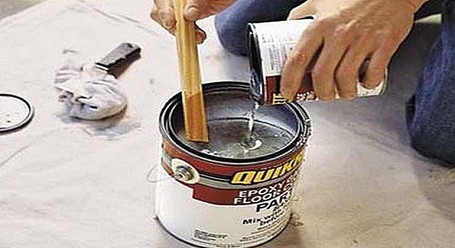 Подготовка окрасочного состава к использованию