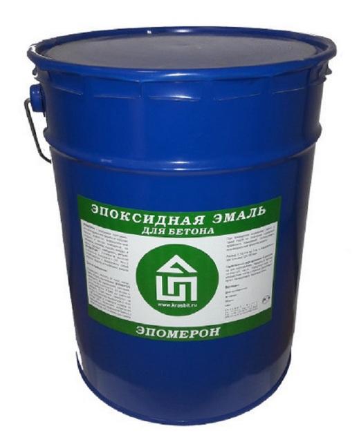 Эпоксидный состав для окрашивания бетона.