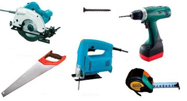 Набор инструментов для быстрого и качественного настила OSB-плит на деревянное основание
