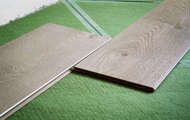 Хвойная подлодка легка в укладке и обладает абсолютной экологической чистотой