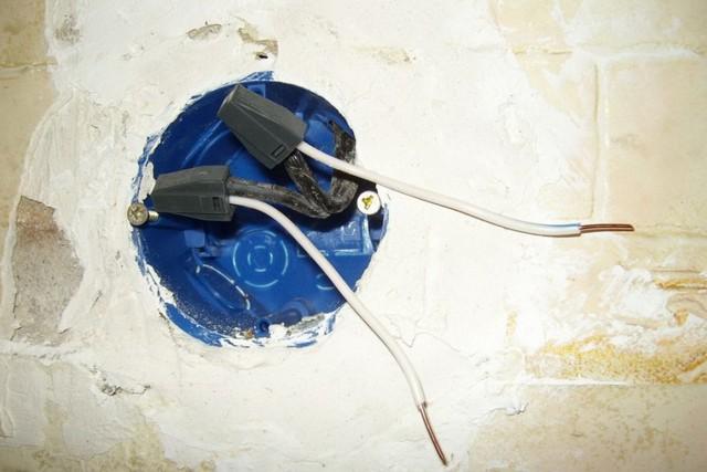 Наращивание проводов в подрозетнике с помощью клемм Wago серии 773-302