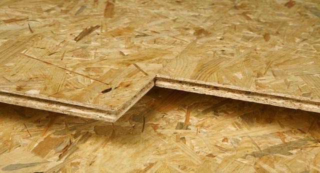 Шпунтованные плиты OSB позволяют обиться практически бесшовного покрытия.