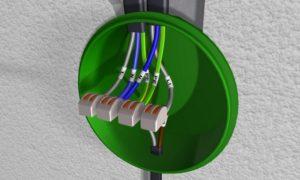 Как установить выключатель света одноклавишный настенный