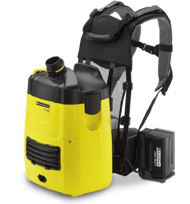Пылесос-рюкзак «Karcher BV 5/1» — оцените комфортность выполнения уборки!