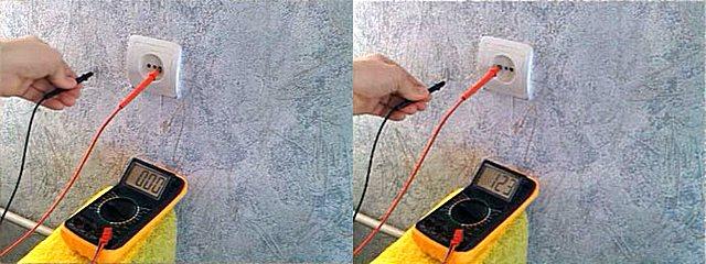 Вторым «контактом» может стать просто стена, расположенная около места проведения проверки.