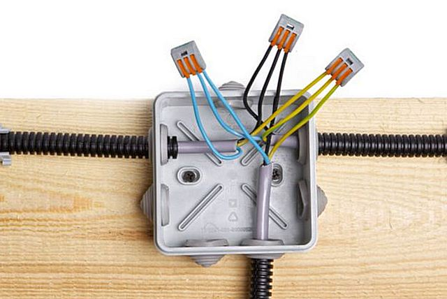 Современная однофазная домашняя электропроводка в идеале должны быть организована с тремя проводами – фазой, рабочим нулем и защитным заземлением