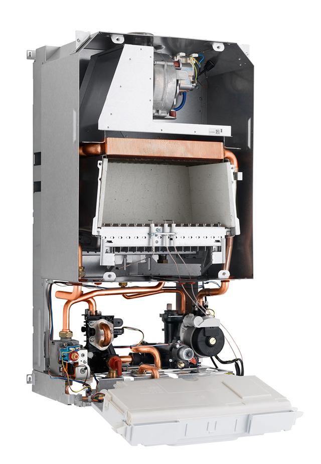 Настенный газовый котел: вся обвязка внутри корпуса