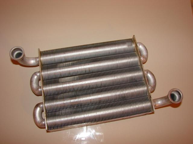 первичный теплообменник из меди настенного газового котла