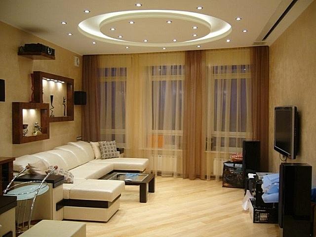 Хорошо продуманное освещение должно дополнять отделку комнаты, а не дисгармонировать с ней.