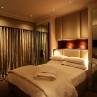 Освещение в спальне