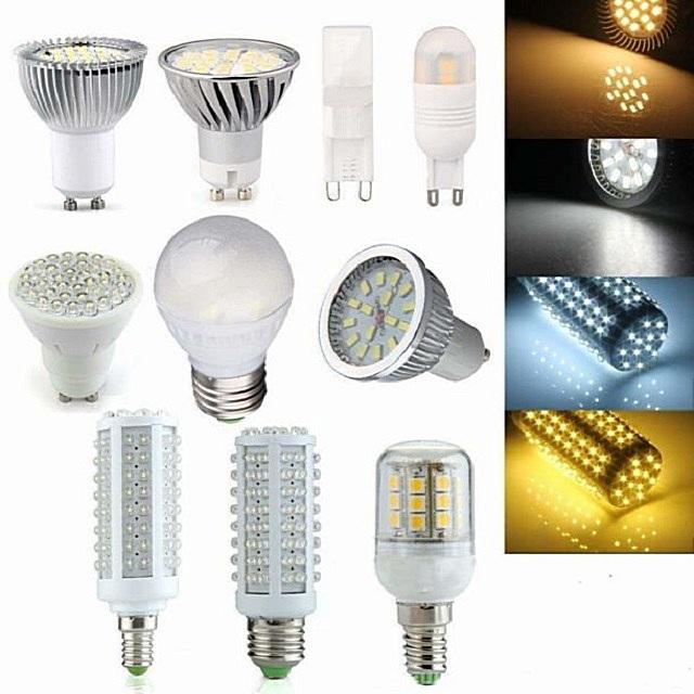 Формы выпуска светодиодных ламп – разнообразие очень велико